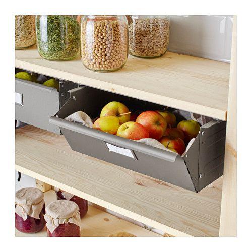 ivar schublade ikea kitchen ideas pinterest speisekammer ikea m bel und regal. Black Bedroom Furniture Sets. Home Design Ideas
