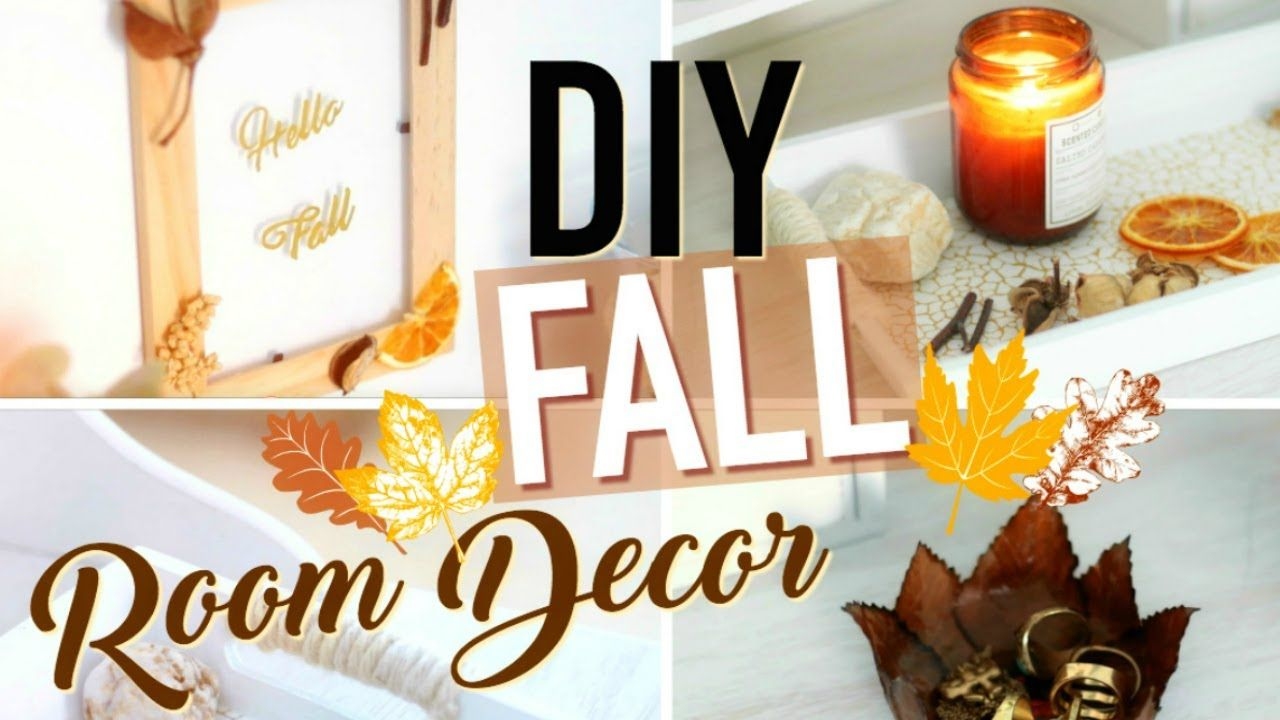 Diy Deco Facile Automne Fall Room Decor Francais