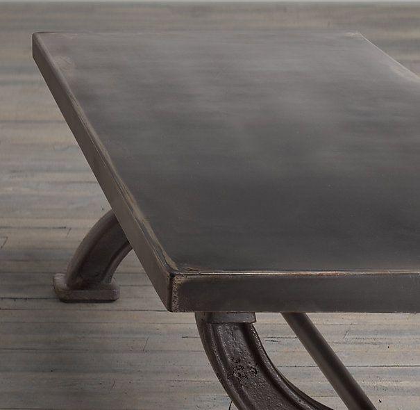 1940s Metal Cooling Rack Table Steel Coffee Table Restoration