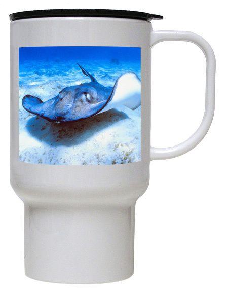 Stingray Polymer Plastic Travel Mug