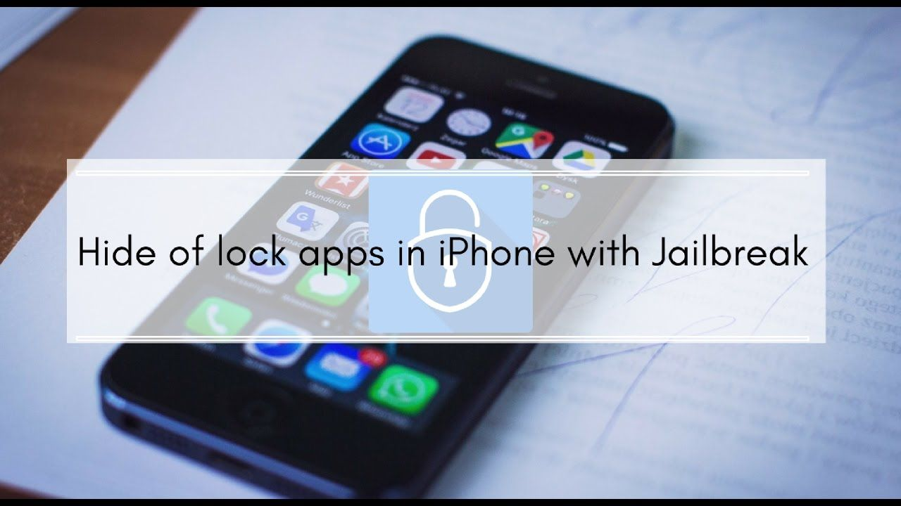 Hide or lock WhatsApp, Messages or other apps in iPhone