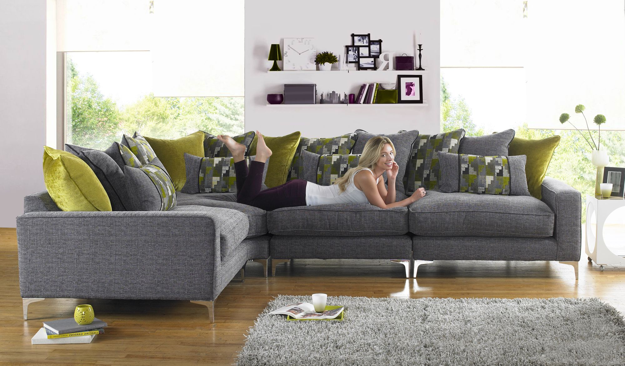 Check out the Pentagon sofa from Sofaworks