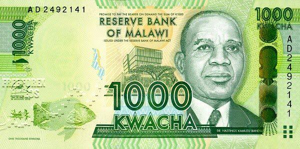 Malawian Kwacha Usd Mwk Malawi