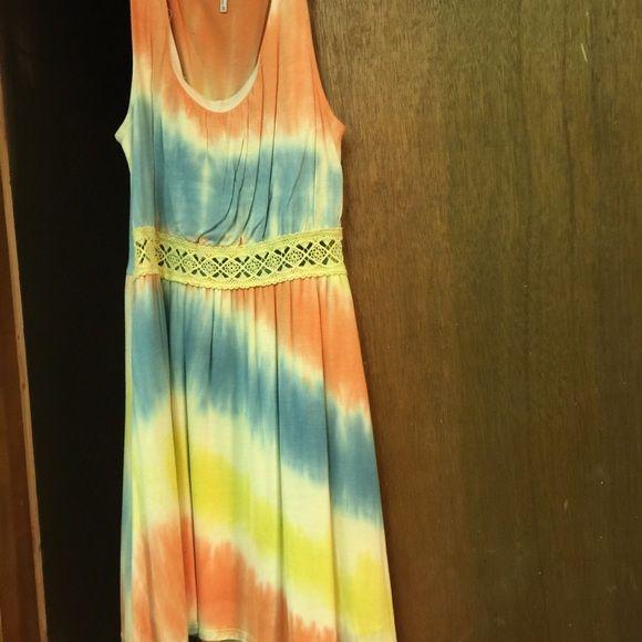 Dress Tie~dye Dresses Mini