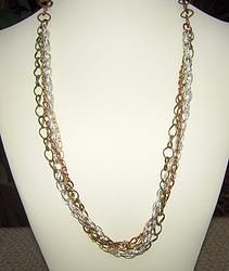 5 Chains + 5 Styles + 4 Colors = 1 Necklace