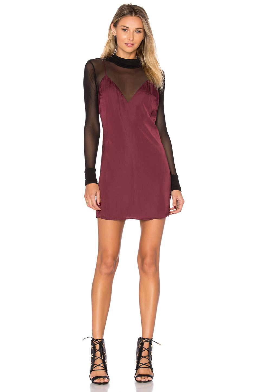 0d57a471e618 Lovers + Friends x REVOLVE Mini Slip Dress in Wine Mini Slip Dress, Slip On