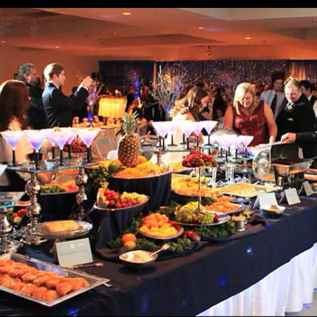 What An Elegant Buffet! I Love The Use Of Varying Heights