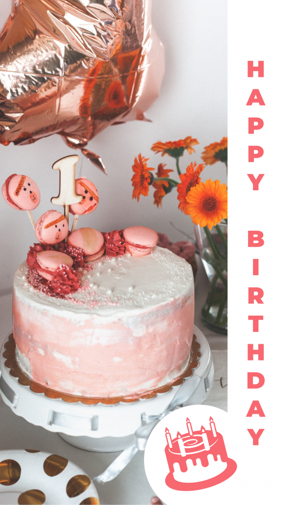 Story Template Happy Birthday Instagram Story Template