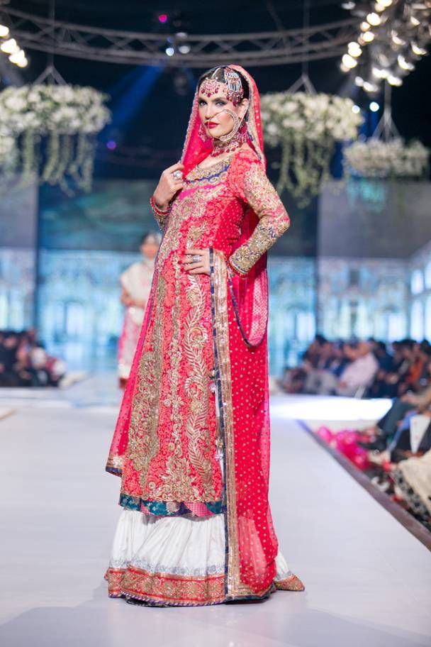 Pakistani Bridal Lehenga Dresses Designs Styles 2018-2019 Collection