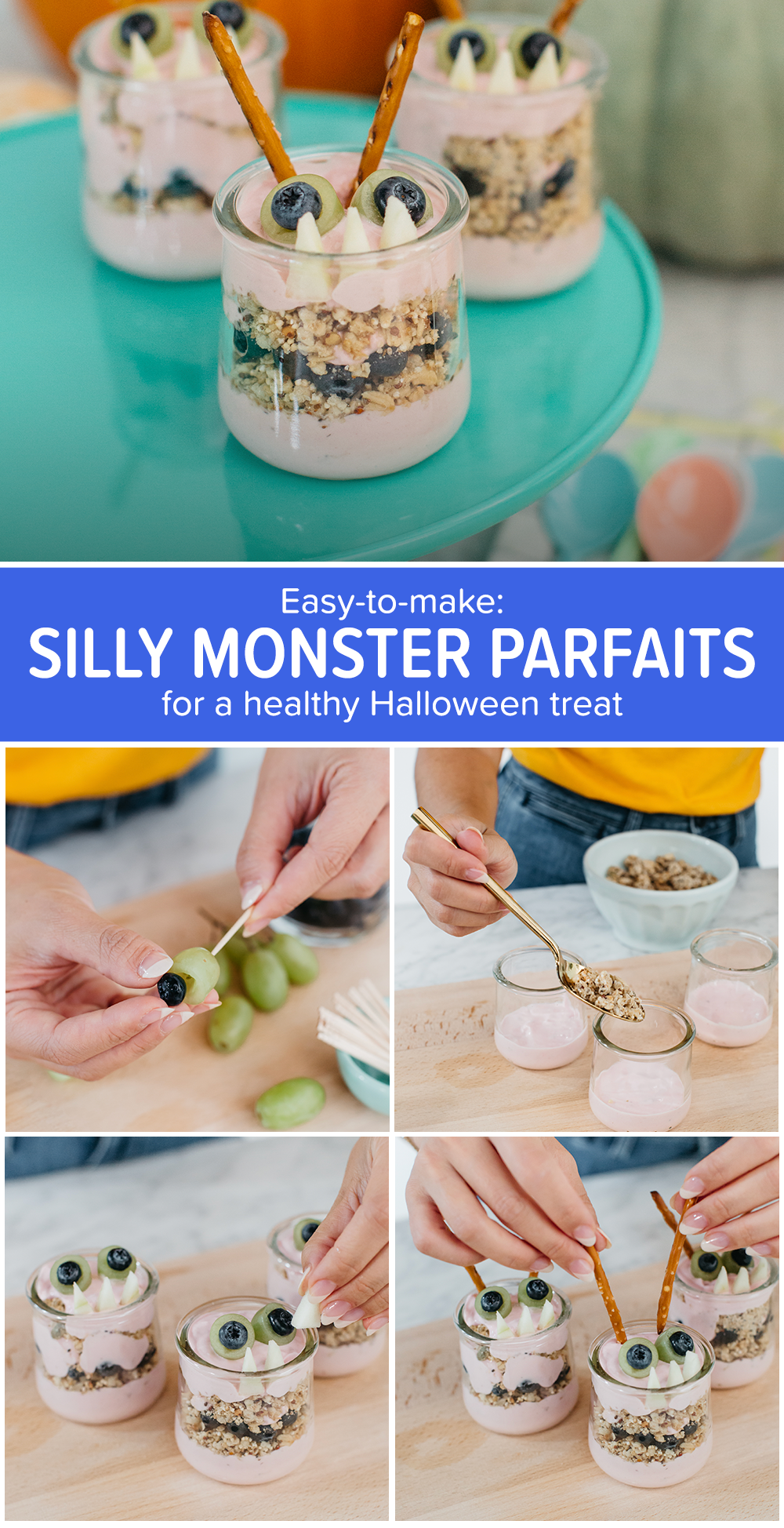 The Best Recipe To Turn Halloween Fright Into Fun Healthy Halloween Treats Food Healthy Halloween