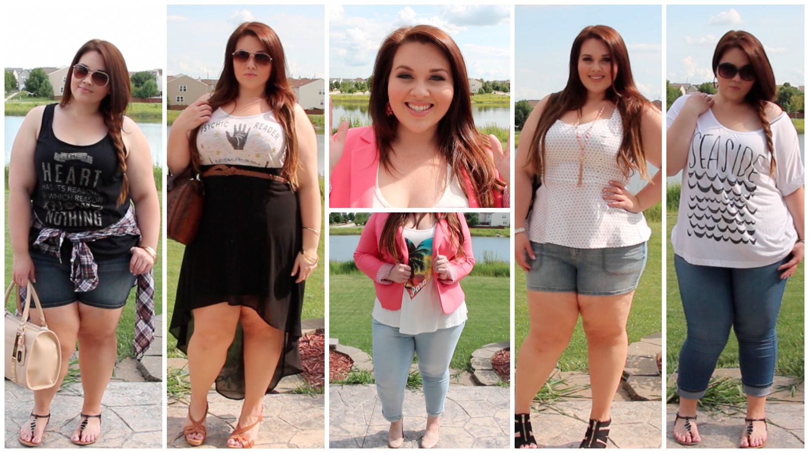 5282301abb13 Plus size summer outfits 2016 - http   www.cstylejeans.com