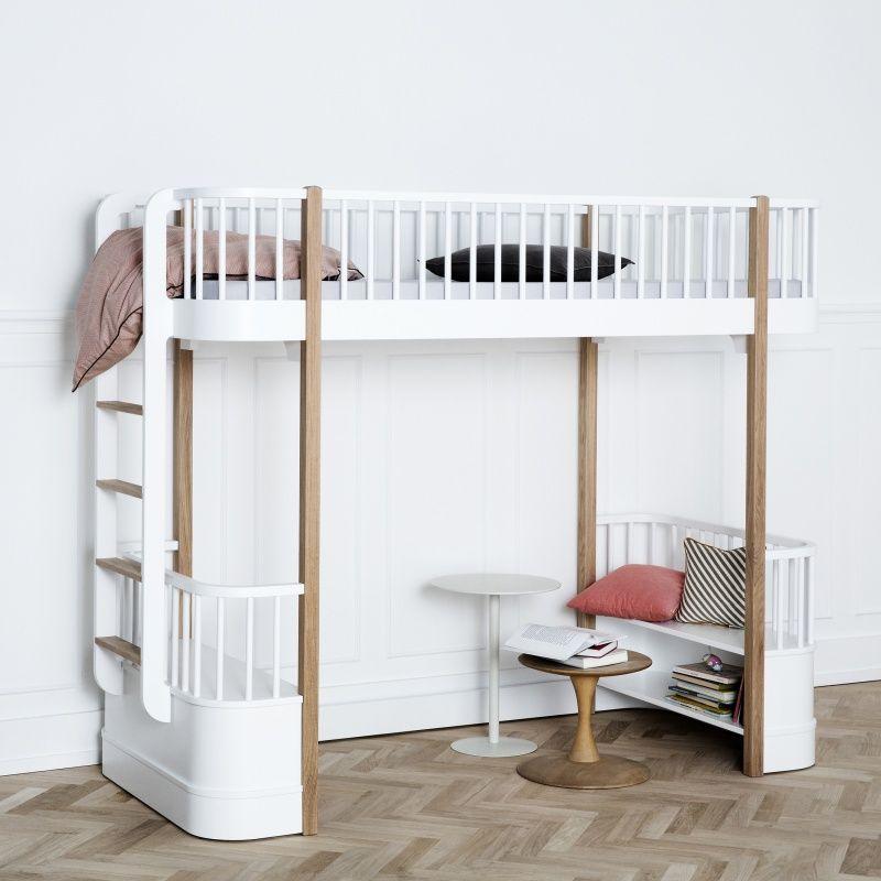 Exceptional Tolles Dekoration Oliver Furniture Hochbett #2: Oliver Furniture Wood Hoogslaper Loft Bed Oak (nieuwe Collectie)