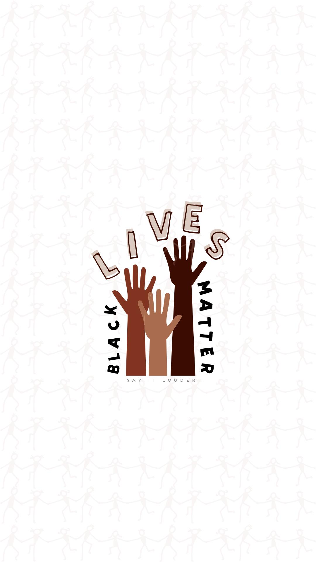 Black Lives Matter wallpaper in 2020 Black lives matter