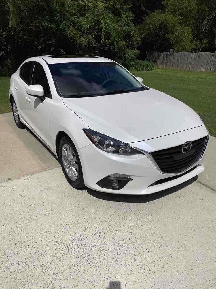 2015 Mazda 3 Grand Touring 2015 Mazda 3 Sedan White Fwd Automatic Grand Touring Mazda 3 Sedan Mazda Sedan