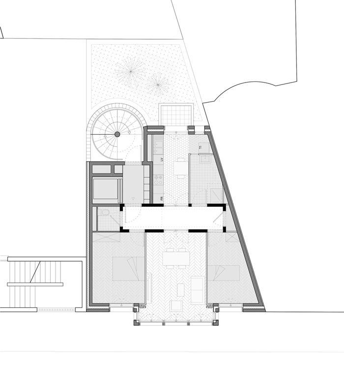 8 logements - Paris 6 : Nicolas Reymond Architecture & Urbanisme