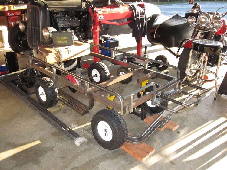 M274 Military Mule Half Scale Home Build   DIY Go Kart Forum
