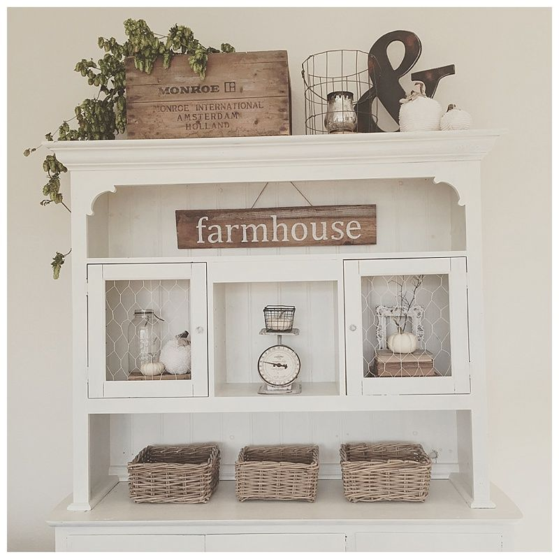 Farmhouse Kitchen Fall Decorating Ideas: Pin On Eclectically Fall Home Tour
