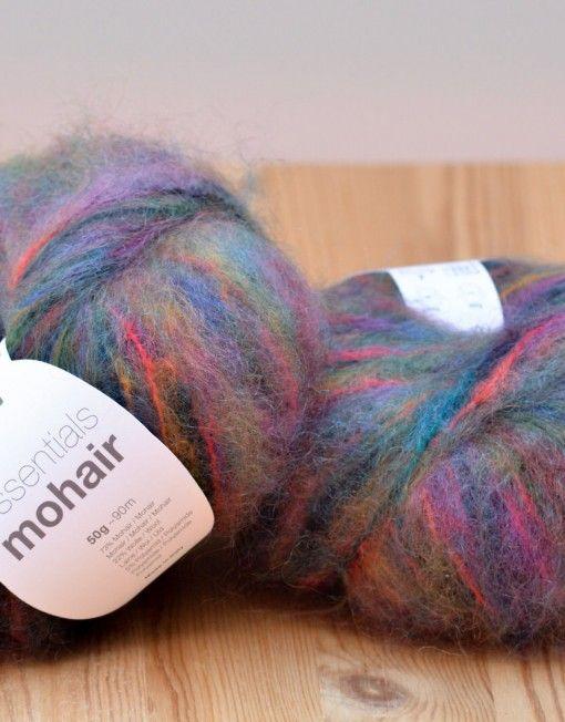 Lana mohair multicolor | Pinterest | Lana, Tejer con agujas y Comprar