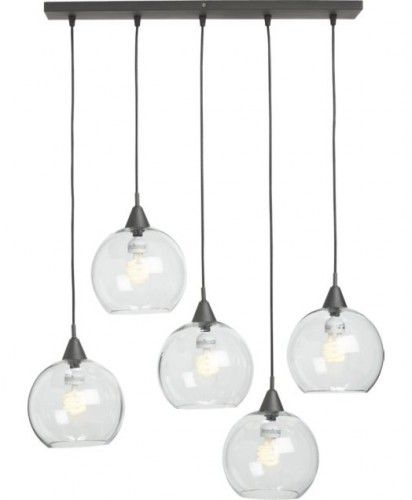 I Like This Alternative To Hanging Pendants Over The Island Or