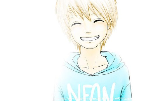 Smiling Cute Anime Boy By 1danimelover On Deviantart With Images Cute Anime Boy Anime Cute Anime Guys