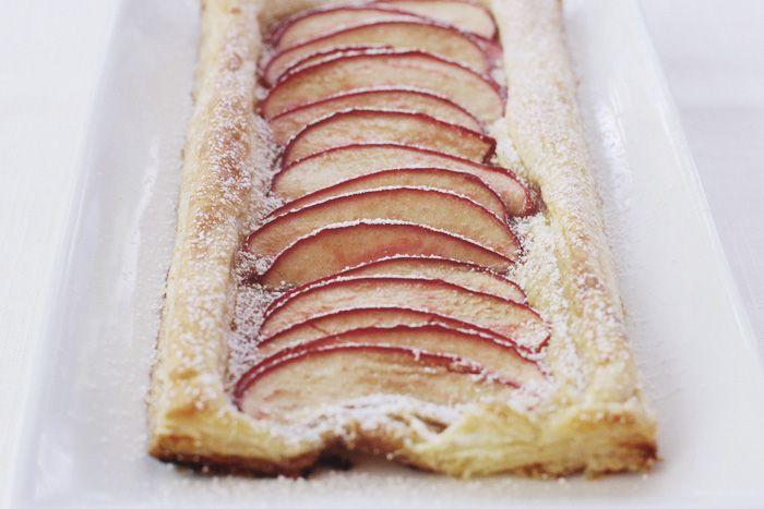 an easy apple tart