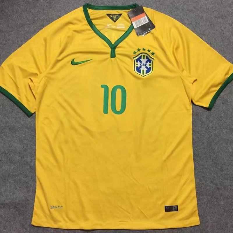 best loved febc8 09231 Brazil national football team Nike WC 2014 Retro Classic ...