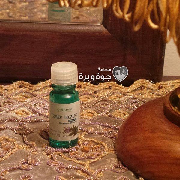 زيت شجرة الشاي والروز ماري من أوريفليم Tea Tree Rosemary Oil Oils