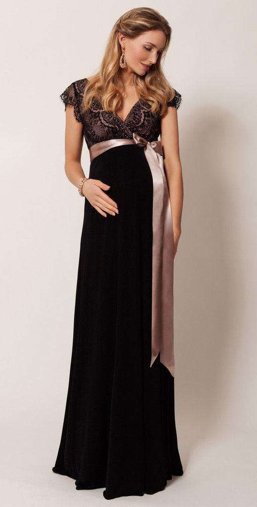 Tiffany Rose Long Maternity & Nursing Gown Rosa | dress | Pinterest ...
