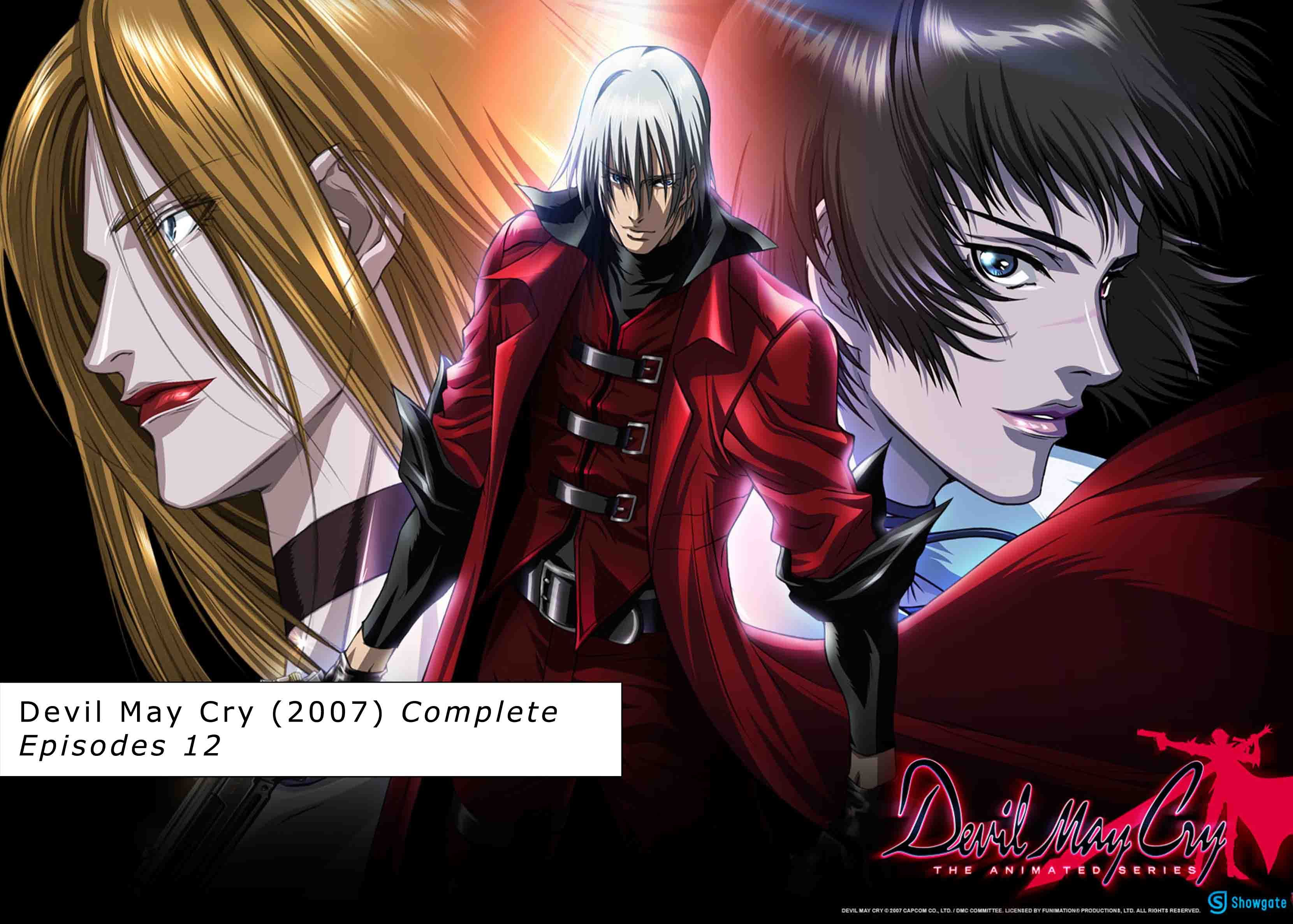 Devil May Cry Anime Series Collection Pinterest