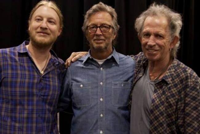 Derek Trucks, Eric Clapton & Keith Richards