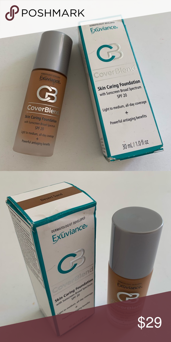 Exuviance Coverblend Skin Caring Foundation Exuviance Makeup Foundation Foundation