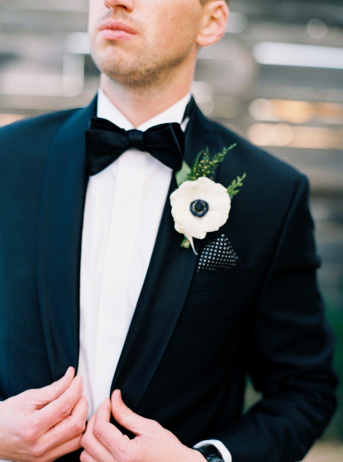 Sophisticated New Years Eve Brik Venue Wedding • Alexa Kay