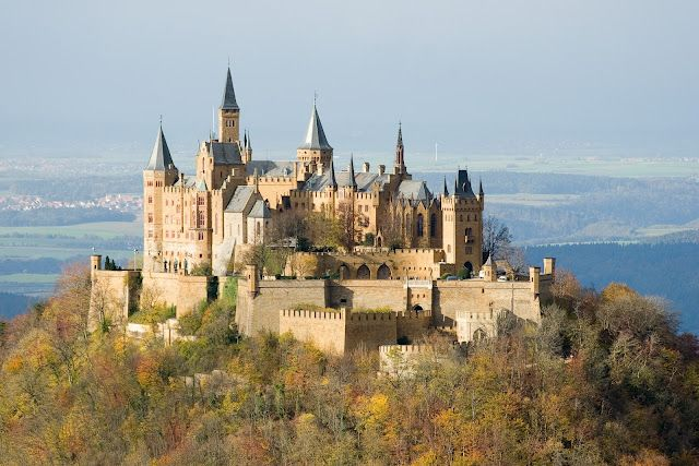 Burg Hohenzollern, Germany. I wouldn't mind visiting the old homeland if I could stay here!