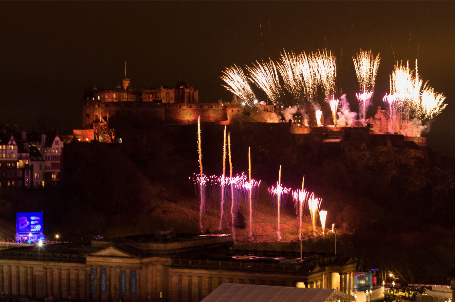 Some of the best photos from Edinburgh's Hogmanay street