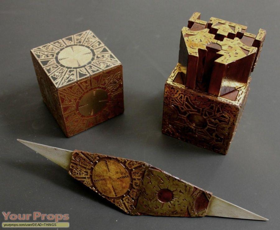 Hellraiser bloodline original movie prop puzzle box