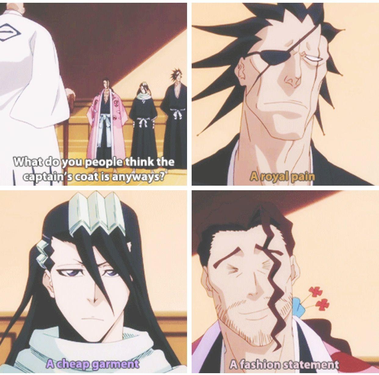 Lmao, loved this episode  agreed Byakuya | Bleach | Bleach