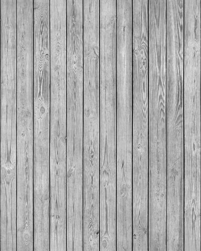 Wooden Plank Wall - Grey - wallpaper