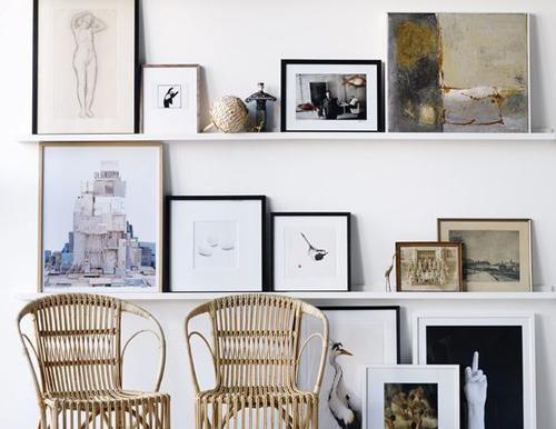 Fraaie fotowand 10 idee n eigen huis en tuin idee n - Pinterest fotowand ...