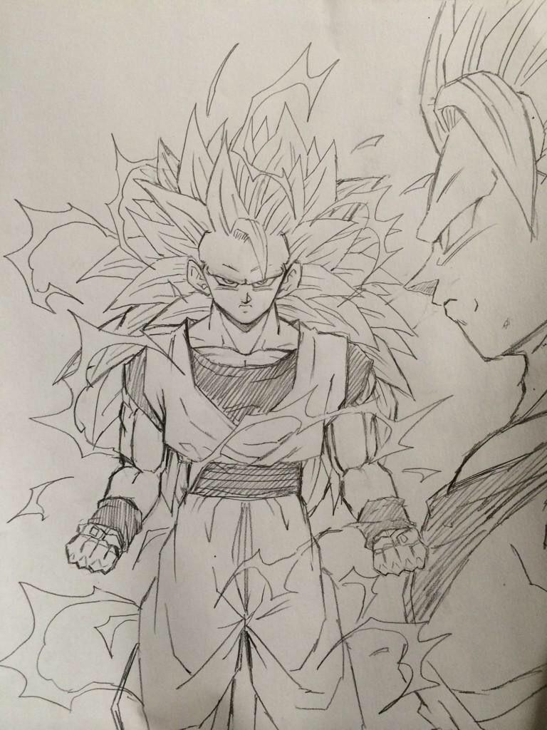 SSJ3 Son Goku - Visit now for 3D Dragon Ball Z compression shirts ...
