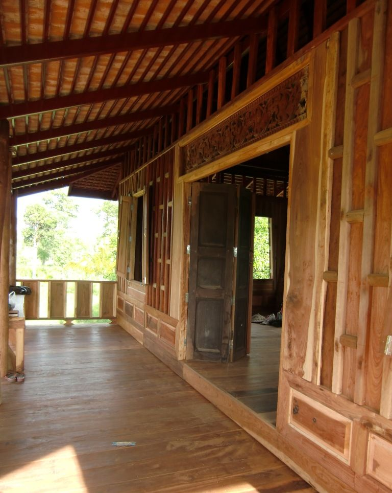 Building a Traditional Thai House | Thai | Thai house, House ... on tradtional interior design, luxury home design, asian mansion makati condotel, log home with porches design, asian timber frame homes, safari style interior design, chinese home design, asian exterior, oriental home design, japanese style pergola design,
