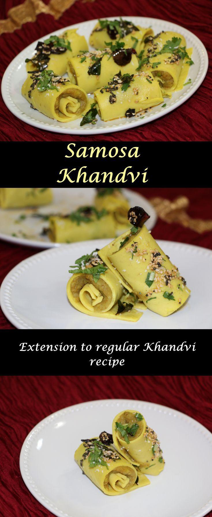 Samosa khandvi cookingcarnival rolls snacks and dishes samosa khandvi cookingcarnival indian food recipesall forumfinder Choice Image