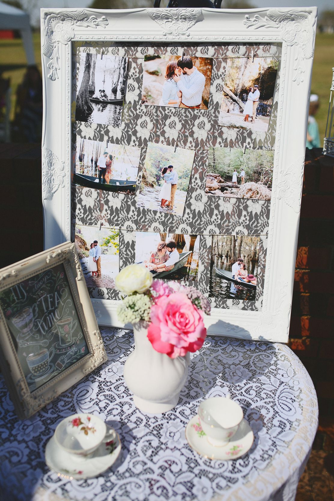 Southern Belle Tea Party Themed Bridal Brunch Shabby Chic Bridal