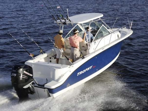 25 Foot Trophy Walkaround For Sale Sale Cruisers Boat