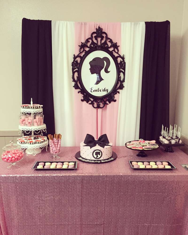 Vintage Barbie Birthday Party Ideas Birthdays Barbie party and