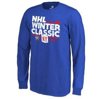 b95ad3887f2 Youth New York Rangers Fanatics Branded Royal 2018 NHL Winter Classic Ice  Long Sleeve T-Shirt