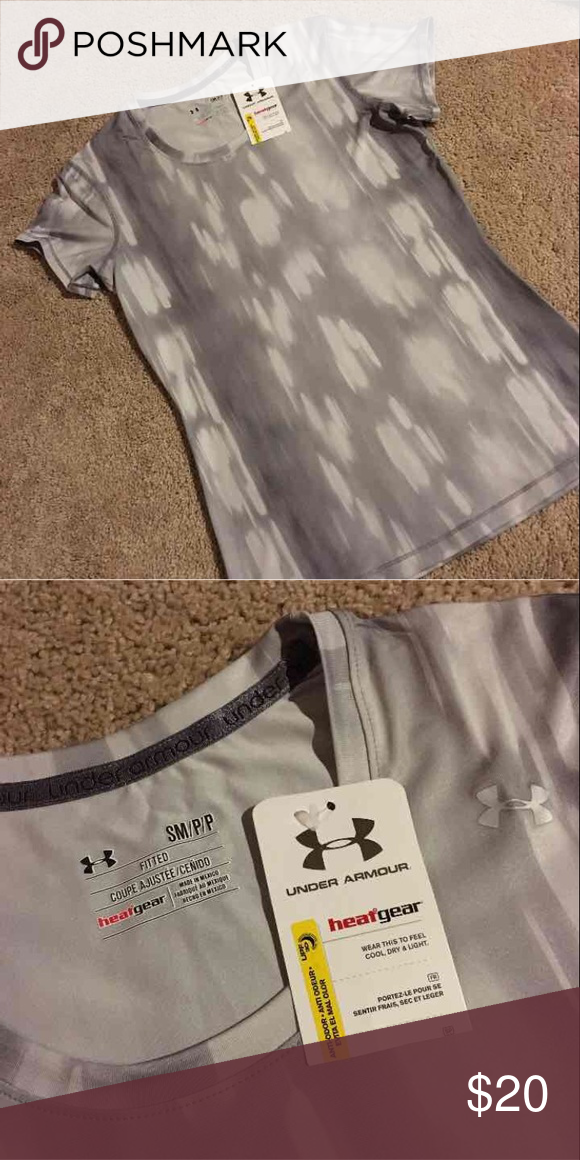 Under Armour Shirt Size small NEW with tags - NO TRADES* - cheaper on merc Under Armour Tops Tees - Short Sleeve