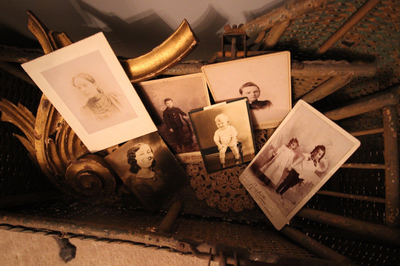 Antique Photos - Lot of 6 Vintage Sepia Photographs