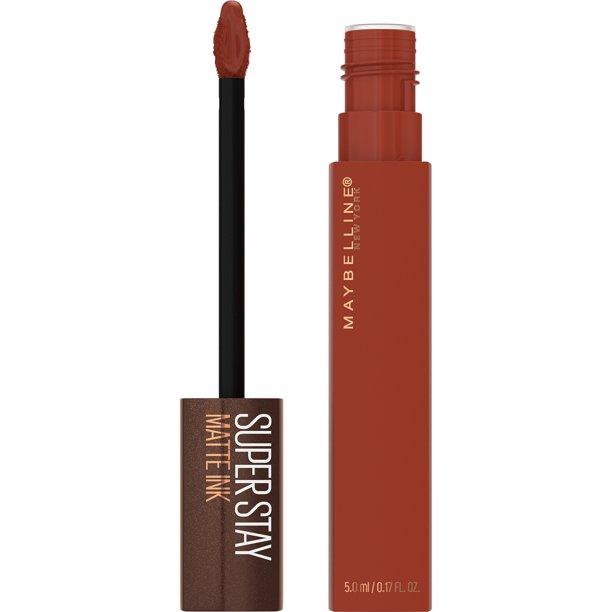 Maybelline Superstay Matte Ink Liquid Lipstick Coffee Edition Cocoa Connoisseur 0 17 Fl Oz Walmart Com Best Long Lasting Lipstick Maybelline Maybelline Super Stay