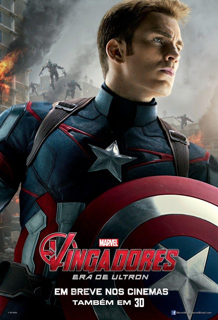 Vingadores Era De Ultron Posteres Cine Planeta Com Imagens