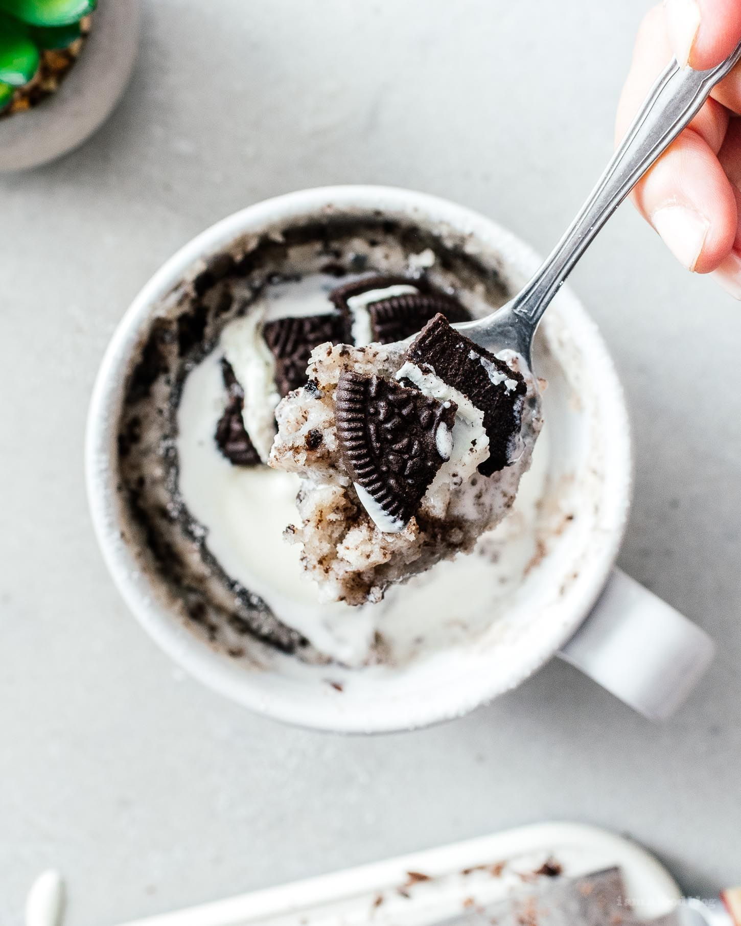 That Viral Tiktok Oreo Mug Cake I Am A Food Blog Recipe Easy Mug Cake Mug Cake Mug Cake Microwave
